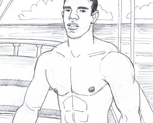 Brazilian Boy on the Boat